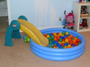 Slide and Baby Pool